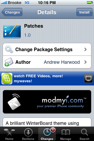 WinterBoard Themes and Mods