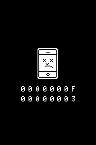 Sad iPhone