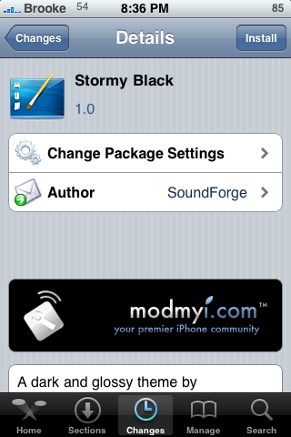 WinterBoard Mods – Page Dots and Themes