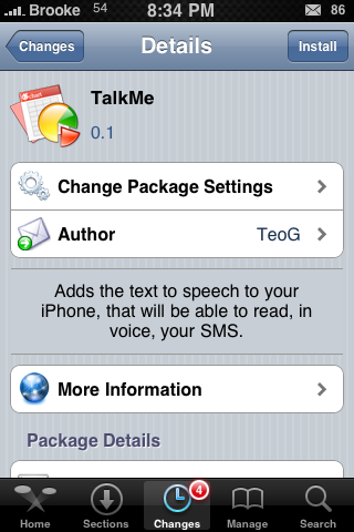 TalkMe – Text to Speech Application