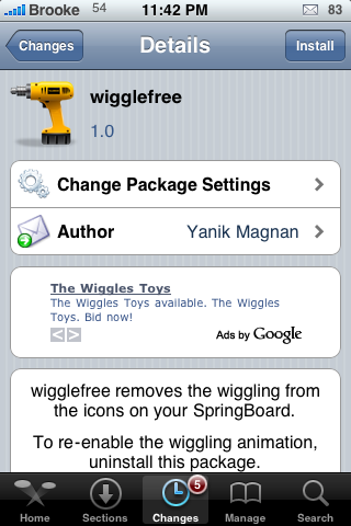 wigglefree – Stop Your Icons From Wiggling – Now Available via Cydia