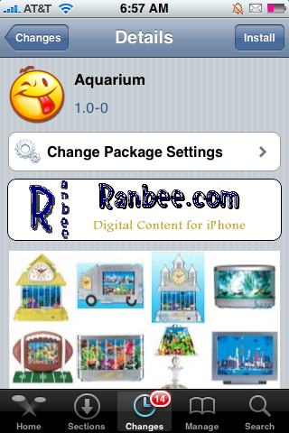 Aquarium – Turn your iPhone into an Aquarium
