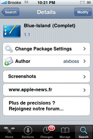Blue-Island – Lock Screen Mod