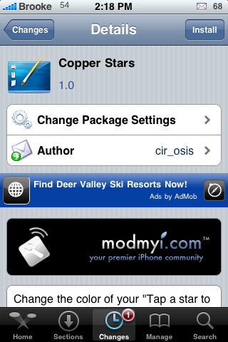 Copper Stars – Star Rating Mod