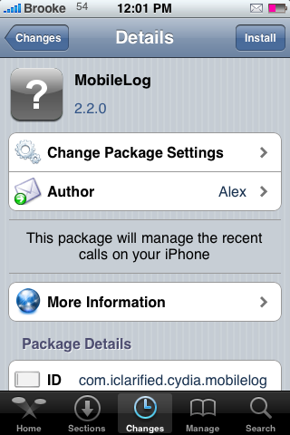 MobileLog – Manage Call and Text Messages