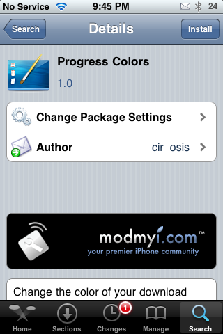 Progress Bar Mods – Change Color of Download Progress Fill