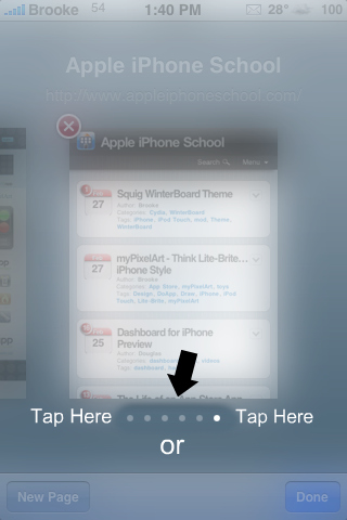 QuickTip – Safari, Tap to Scroll