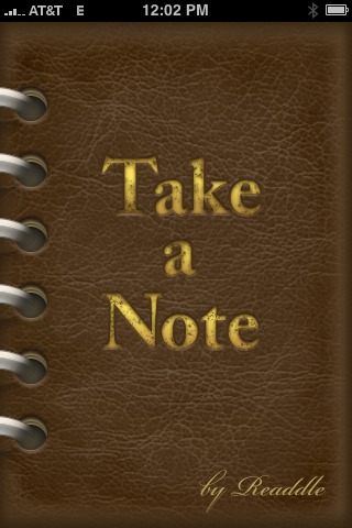 Take a Note – Versatile Note Taking Application