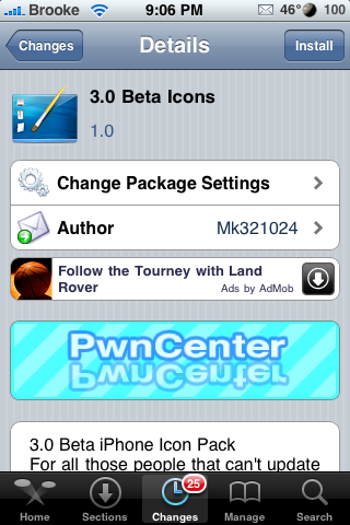 3.0 Beta Icons – Look like you have 3.0 Firmware!