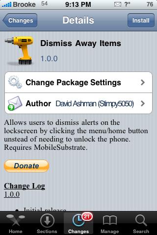 Dismiss Away Items – Dismiss Alert Pop-ups