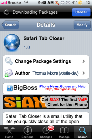 Safari Tab Closer – Close All Your Tabs With One Button