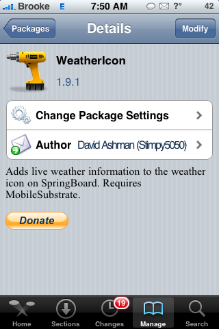 WeatherIcon Mod Updates 1.9.1 and 1.9.2