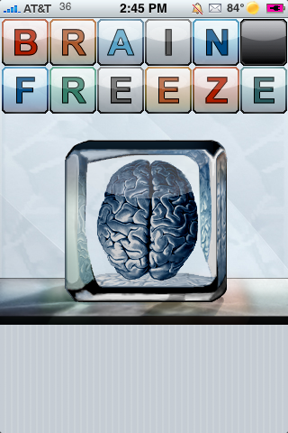brainfreeze