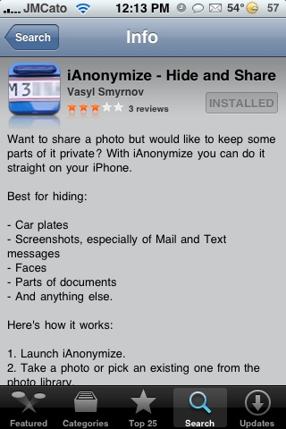 iAnonymize – Hide or Blur Images in Photos