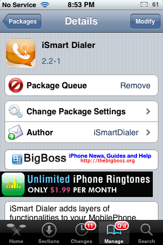 iSmart Dialer – Quickly Call, Text or Email Contacts Directly From Your Stock Keypad