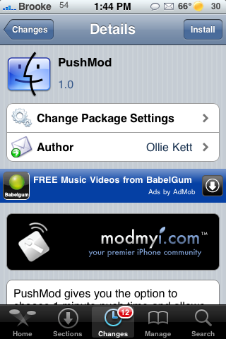 PushMod – Auto Check Email Every Minute