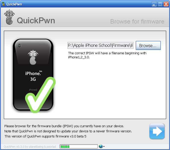 Jailbreak Firmware 3.0 Beta 5