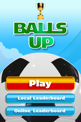 Balls Up – Keep the Ball Off the Ground