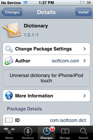 Dictionary – Translation Dictionary