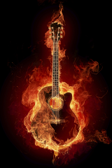 gcv1guitaronfire
