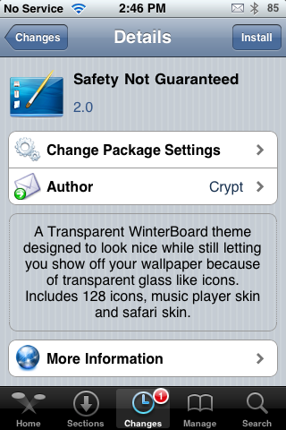 Safety Not Guaranteed – WinterBoard Theme