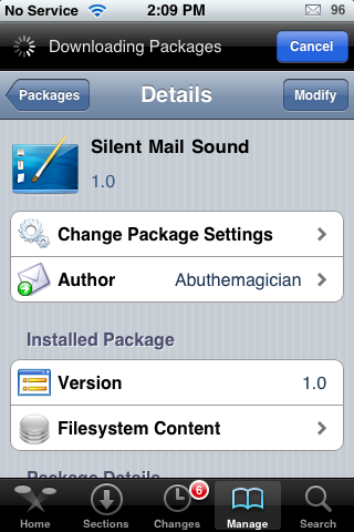 Silent Mail Sound – Turn Your Mail Sound Notification into a Vibrate Notification