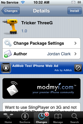 Tricker ThreeG – Use SlingPlayer Mobile on 3G