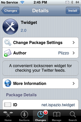 Twidget – View Tweets on Lock Screen