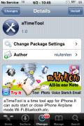 aTimeTool – Set Timers for Airplane Mode, Bluetooth and Wi-Fi