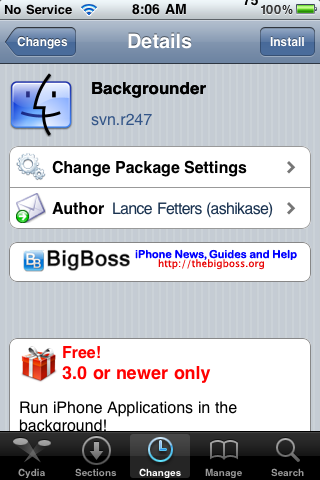 Backgrounder Updated – Firmware 3.0 Compatible