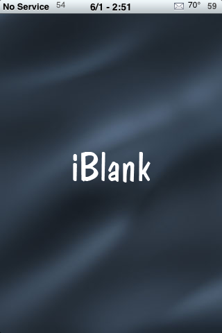 iBlank – Create and Delete Blank Icons