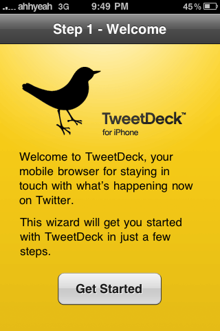 First Impressions: TweetDeck for the iPhone [Twitter]