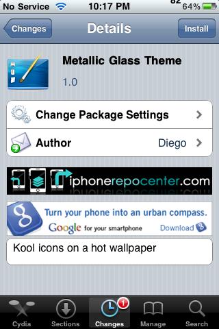 Metallic Glass Theme – WinterBoard Theme