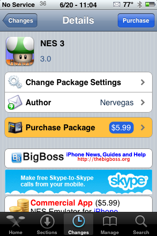 NES Updated – Works on 3.0