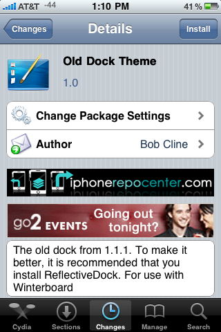 Old Dock Theme – WinterBoard Theme