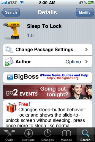 Sleep to Lock – Go to Lock Screen via the Sleep Button