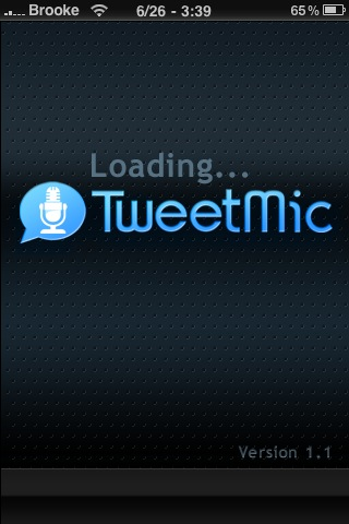 TweetMic – Send Audio Tweets