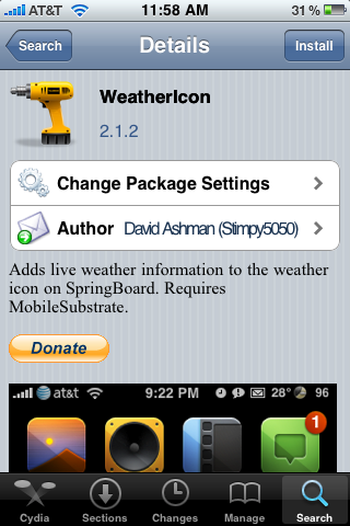 WeatherIcon Update – Supports 3.0 Firmware *UPDATE WARNING