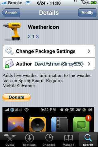 WeatherIcon Update 2.1.3