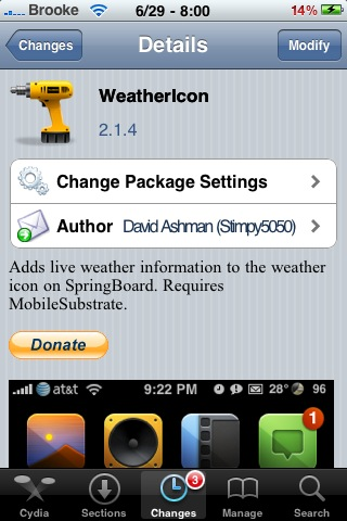 WeatherIcon Update