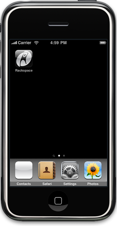 Rackspace Cloud 1.0 for iPhone
