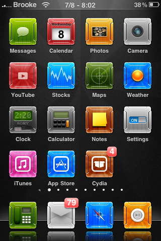Alit Winterboard Theme
