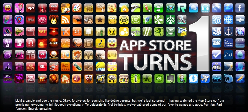 Happy 1st Birthday App Store