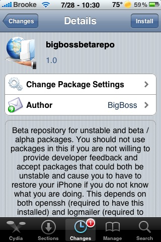 BigBoss Released Beta Repo, bigbossbetarepo
