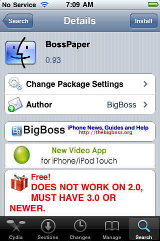 BossPaper (a wallpaper application) – Sneak Peek