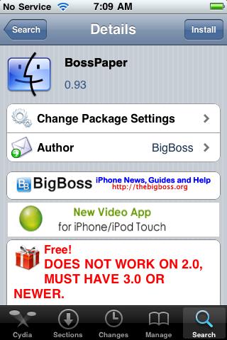 BossPaper (a wallpaper application) – Sneak Peek