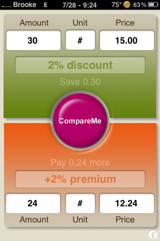 CompareMe – Compare Prices Between Products