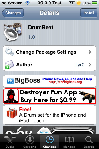 DrumBeat – Drum Simulator