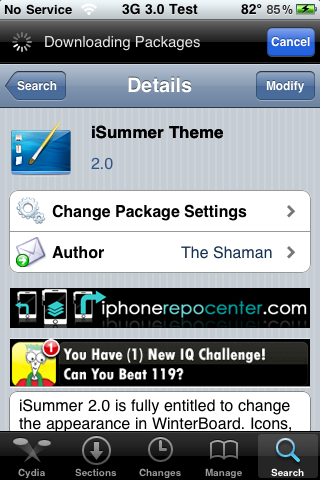 iSummer Theme – WinterBoard Theme (SBSettings Theme)
