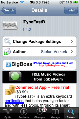 iTypeFastR – Additional Keyboard – Now 3.0 Compatible
